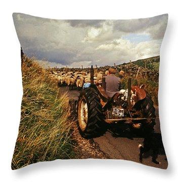 The Yorkshire Shepherd Throw Pillow