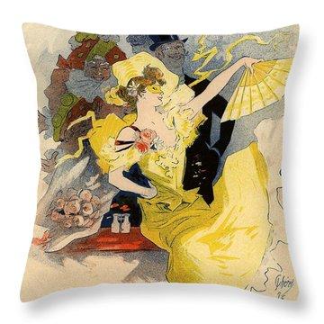 Theatre De L'opera Throw Pillow