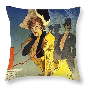 Theatrophone Throw Pillow