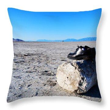 #everythingisforgotten Throw Pillow by Becky Furgason