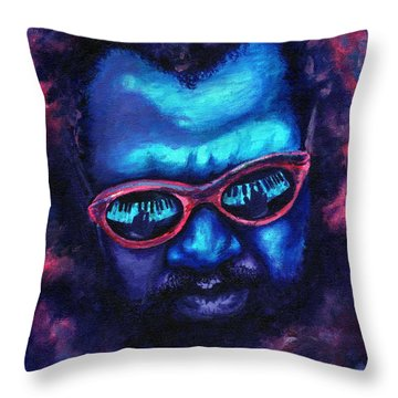 Thelonious Monk Throw Pillow