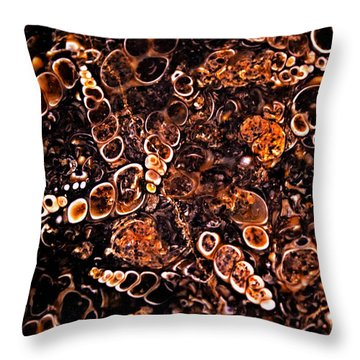 Theme From The Bottom Throw Pillow