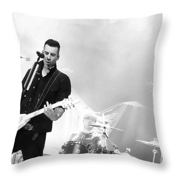 Theory Of A Deadman Tyler Connolly  Throw Pillow