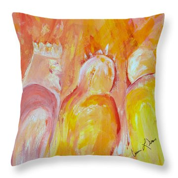 there I AM Throw Pillow