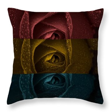 Throw Pillow featuring the digital art There Is A Light That Never Goes Out by Holley Jacobs