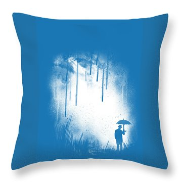 There Is Always A Way Out Throw Pillow