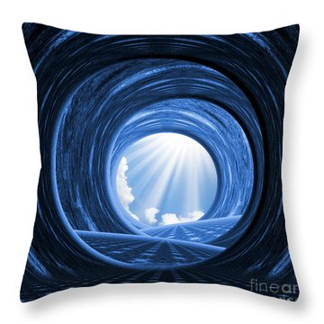 There Is Always A Way Out - Optimistic Art By Giada Rossi Throw Pillow