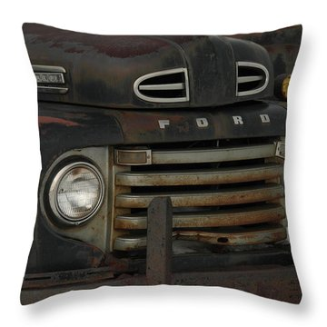 There Is Nothing Like An Old Ford Throw Pillow