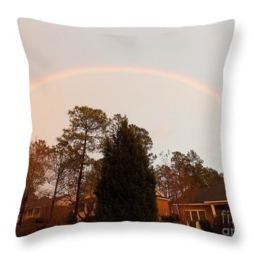 There Is Strength In Prayer Throw Pillow