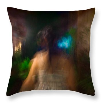 There She Was Throw Pillow