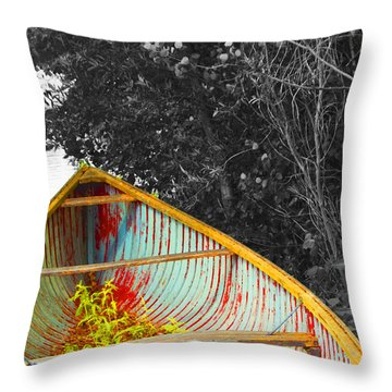 There Was A Day Throw Pillow by John Stuart Webbstock