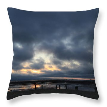 There's A Freedom In The Night Throw Pillow by Laurie Search