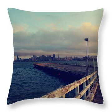 There's Always Tomorrow Throw Pillow by Laurie Search