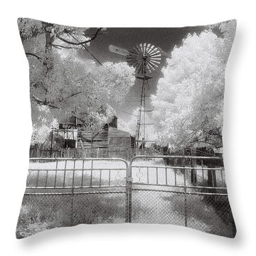 There's No Place Like Home Throw Pillow by Linda Lees