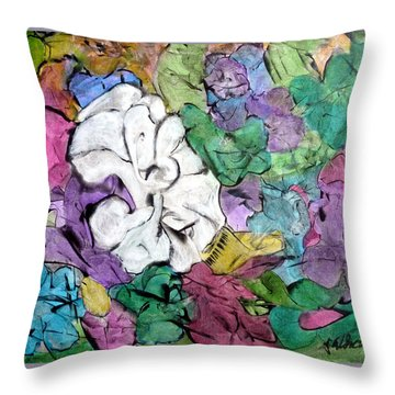 There's One In Every Crowd Throw Pillow by Jim Whalen