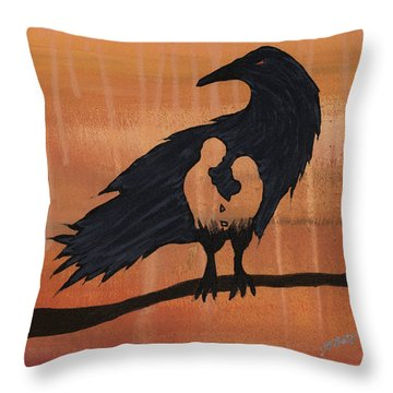 These Do Not Belong To You Throw Pillow by Jim Stark