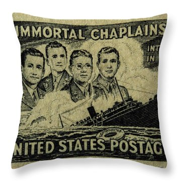 These Immortal Chaplains Throw Pillow