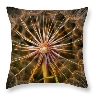 These Pods Light Up Just Dandy. Throw Pillow