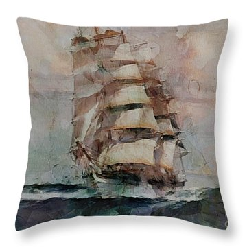 Thessalus Throw Pillow by Dragica  Micki Fortuna