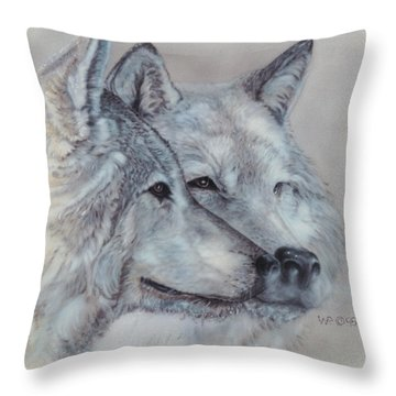 They Mate For Life Throw Pillow