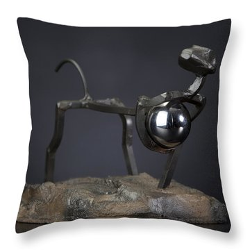 Thief Of World Throw Pillow by Tom Wright