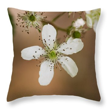 Thimbleweed Throw Pillow