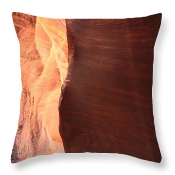 Thin Beam Throw Pillow