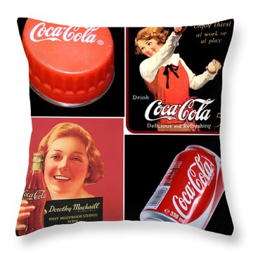Things Go Better With -  Throw Pillow