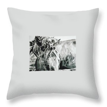 Things Were Sweeter In Tennessee Throw Pillow by Shaila Yovan Tenorio