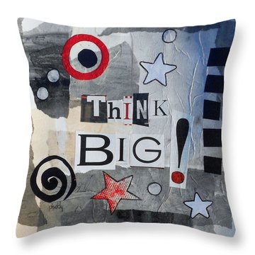 Think Big Throw Pillow