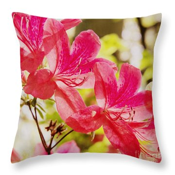 Think Spring 2 Throw Pillow