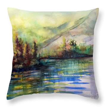 Thinking Of Sargent Throw Pillow