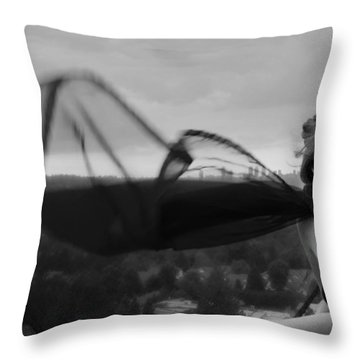 Thinking Of You Throw Pillow by Lisa Knechtel