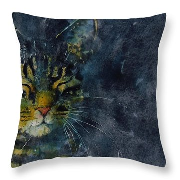 Tabby Throw Pillows