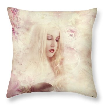 Thinking Of You Throw Pillow by Riana Van Staden