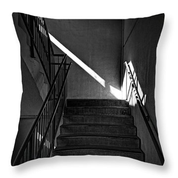 Third Floor Throw Pillow by Bob Orsillo