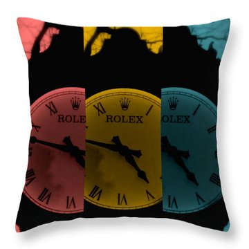 Third Time's The Charm Throw Pillow