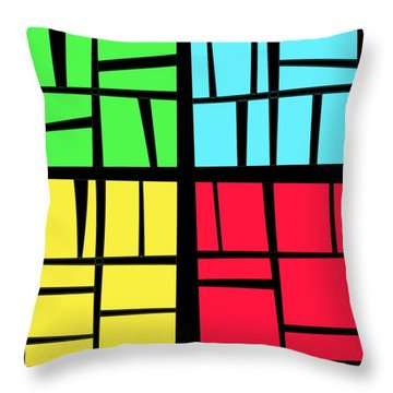 Thirty Four Throw Pillow