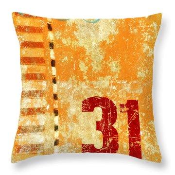 Thirty-one Stripes Throw Pillow