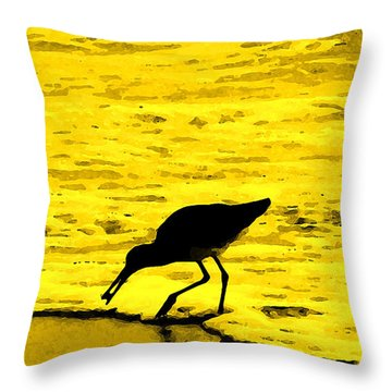 This Beach Belongs To Me Throw Pillow by Ian  MacDonald