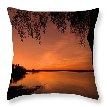 Throw Pillow featuring the photograph This Is A New Day ... by Juergen Weiss