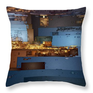 This Is Lake Powell Throw Pillow by David Hansen