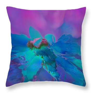 This Is Not Just Another Flower - Bpb02 Throw Pillow by Variance Collections