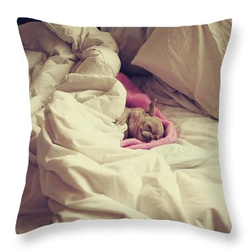 This Is The Life Throw Pillow by Laurie Search