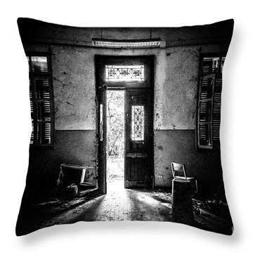 This Is The Way Step Inside Throw Pillow