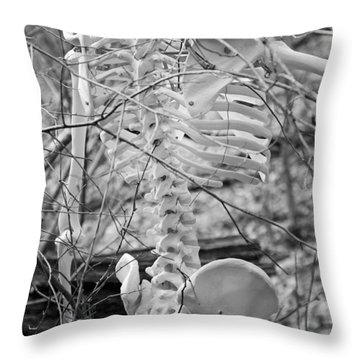 This Is Your Spinal Notice Throw Pillow