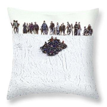 This Looks Like Fun Throw Pillow