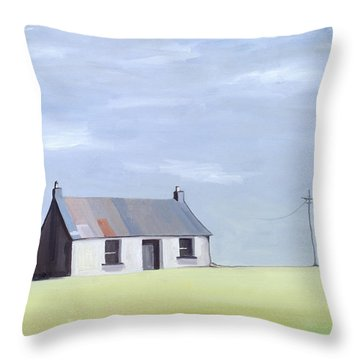 This Old House Throw Pillow by Ana Bianchi