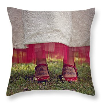 This Place This Time Throw Pillow by Jessica Brawley
