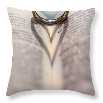 This Thing Called Love Throw Pillow